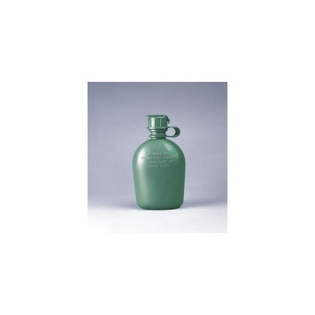 Canteen, Water 1Qt w/strap-on M1 cap NSN 8465-01-115-0026