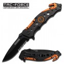 """Tac Force """"Alloy"""" Assisted Opening Rescue Knife - EMT"""