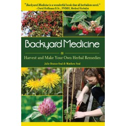 Book- Backyard Medicine-Harvest & Make Your Own Herbal Remedies