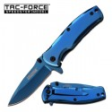 Tac Force TF-848BL Assisted Opening Blue